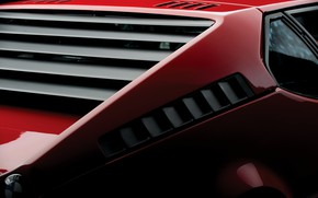 Picture red, BMW, body, BMW M1, E26, M1