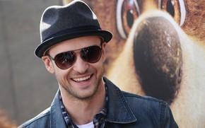 Picture smile, actor, singer, Justin Timberlake