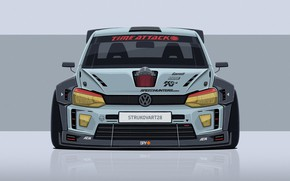 Picture Auto, Volkswagen, Machine, Tuning, Car, Minimalism, Volkswagen Polo, VW Polo, Transport & Vehicles, Dmitry Strukov, …