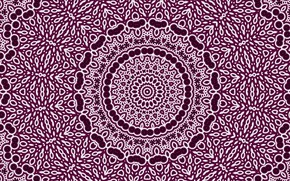 Picture abstraction, pattern, purple