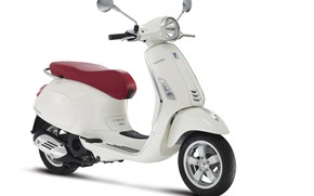 Picture white, white background, scooter, Vespa, Primavera, 150 i.e. 3V