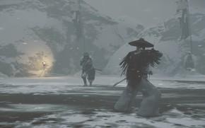 Picture Samurai, ghost of tsushima, tsushima, Cамурай