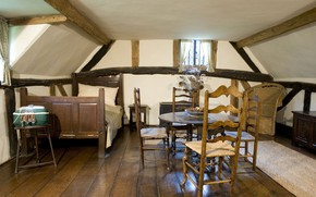 Picture design, style, interior, attic, living room
