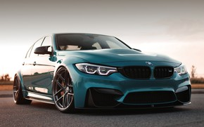 Picture BMW, Blue, Evening, F80, Sight
