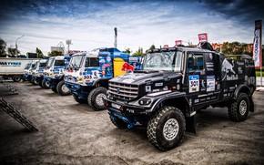 Picture Sport, Machine, Truck, Race, Master, Russia, 300, 2018, Kamaz, Rally, KAMAZ-master, Rally, KAMAZ, RedBull, Master, ...
