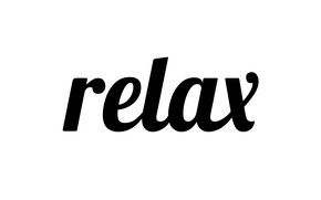 Picture letters, relax, the word