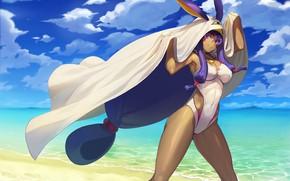 Picture girl, pose, Cape, Fate / Grand Order