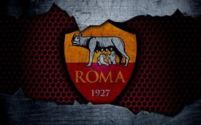 Picture wallpaper, sport, logo, football, Roma