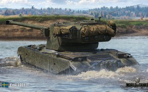 Picture WoT, World of Tanks, Wargaming, Emil 1951