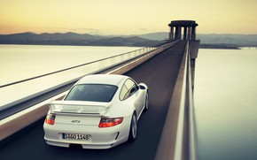 Picture Porsche, Car, Speed, Bridge, Gt3