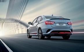 Picture sedan, rear view, Lada, Lada, 2018, Sport, Vesta, Vesta, AvtoVAZ