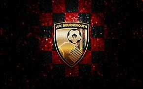 Picture wallpaper, sport, logo, football, glitter, checkered, Bournemouth