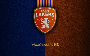 Picture wallpaper, sport, logo, hockey, Vaxjo Lakers