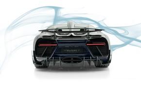 Picture Bugatti, supercar, rear view, Mansory, hypercar, Chiron, 2019, Centuria