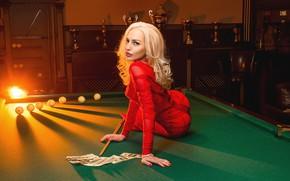Picture money, blonde, dollar, A Diakov George