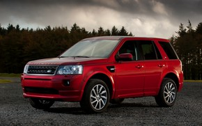 Picture Land Rover, 2010, side, crossover, Freelander, SUV, Freelander 2, LR2