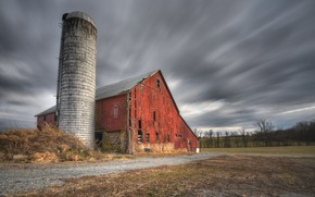 Picture Pennsylvania, Afternoon Barn, Butler Township, Center Mills