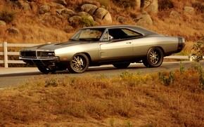 Picture Coupe, Dodge Charger, Muscle classic