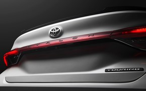 Picture Toyota, 2018, Avalon, Touring, trunk lid