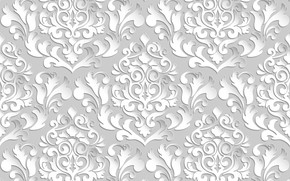 Picture white, background, pattern
