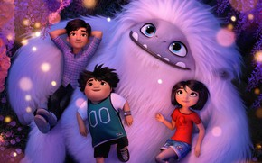 Picture children, cartoon, Yeti, Cartoon, Everest, Abominable, Animated Movie