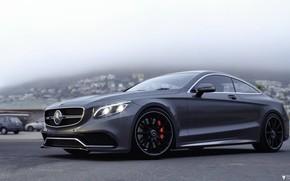 Picture Auto, Machine, Grey, Mercedes, Car, Car, Render, AMG, Rendering, Grey, Transport & Vehicles, Mercedes-Benz S …