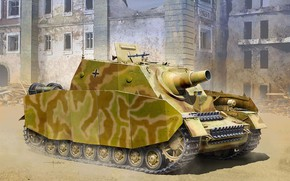 Picture Germany, SAU, The storm Panzer IV, Armor