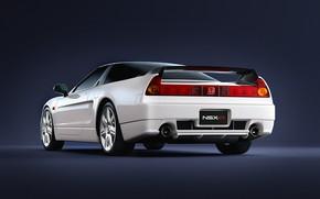Picture White, Machine, Honda, Render, Rendering, Honda NSX, White color, Transport & Vehicles, by Damian Bilinski, …