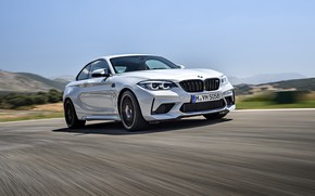 Picture road, the sky, asphalt, coupe, BMW, 2018, F87, M2, M2 Competition