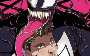 Picture comics, Venom, Venom, Eddie Brock, by ototobo