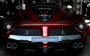 Picture Red, Auto, Black, Machine, Ferrari, LaFerrari, Gran Turismo Sport