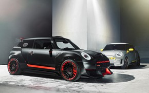 Picture Concept, Mini, Cooper, 2018, Electric, 2017, John Cooper Works GP