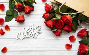 Picture roses, bouquet, Valentine's Day, Olena Rudo