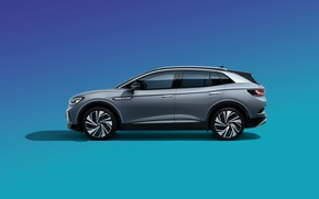 Picture China, Volkswagen, side, 2020, CUV, ID.4 Crozz Prime