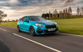Picture road, speed, BMW, Gran Coupe, UK-spec, 2-Series, M Sport, 2020, 218i, F44