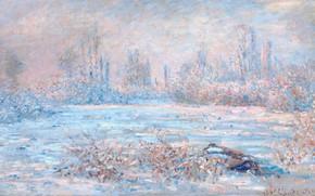 Picture landscape, picture, Claude Monet, Claude Monet, Le IVR