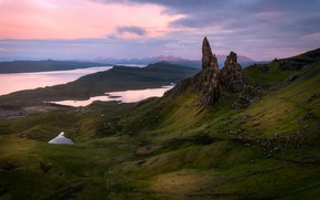 Picture mountains, rocks, view, Scotland