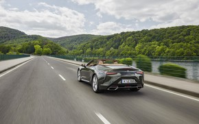 Picture Lexus, back, convertible, 2021, LC 500 Convertible
