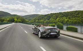 Picture Lexus, back, convertible, 2021, LC 500 Convertible