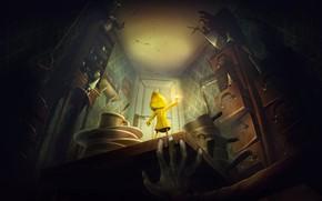 Picture the game, horror, nightmares, Bandai Namco Games, Little Nightmares, Шестая, Чрево