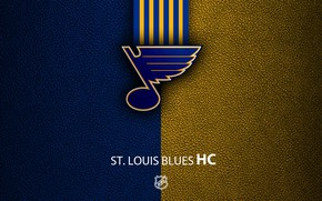 Picture wallpaper, sport, logo, NHL, hockey, St. Louis Blues