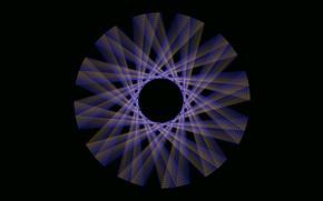 Picture background, pattern, round