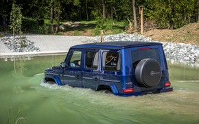 Picture blue, Mercedes-Benz, SUV, 4x4, G-Class, Ford, 2019