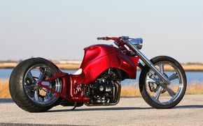 Picture Chopper, Custom, Motorbike