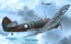 Picture aircraft, General purpose, CAC, Wirraway, Commonwealth Aircraft Corporation