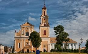 Picture the Church, Belarus, Grodno, Neman