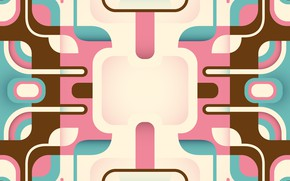 Picture line, pink, blue, vector, geometry, background