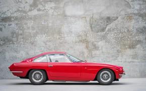 Picture Red, Side view, Lamborghini 400GT