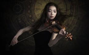 Picture music, violin, Sayaka Kinoshiro