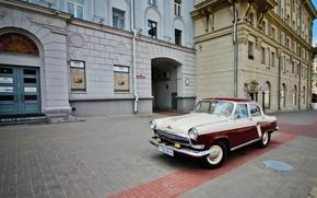 Picture machine, street, Minsk, Volga GAZ-21